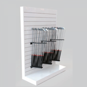 Golf club racks