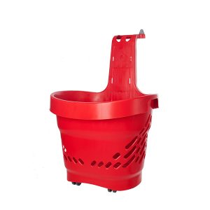 Red roller basket